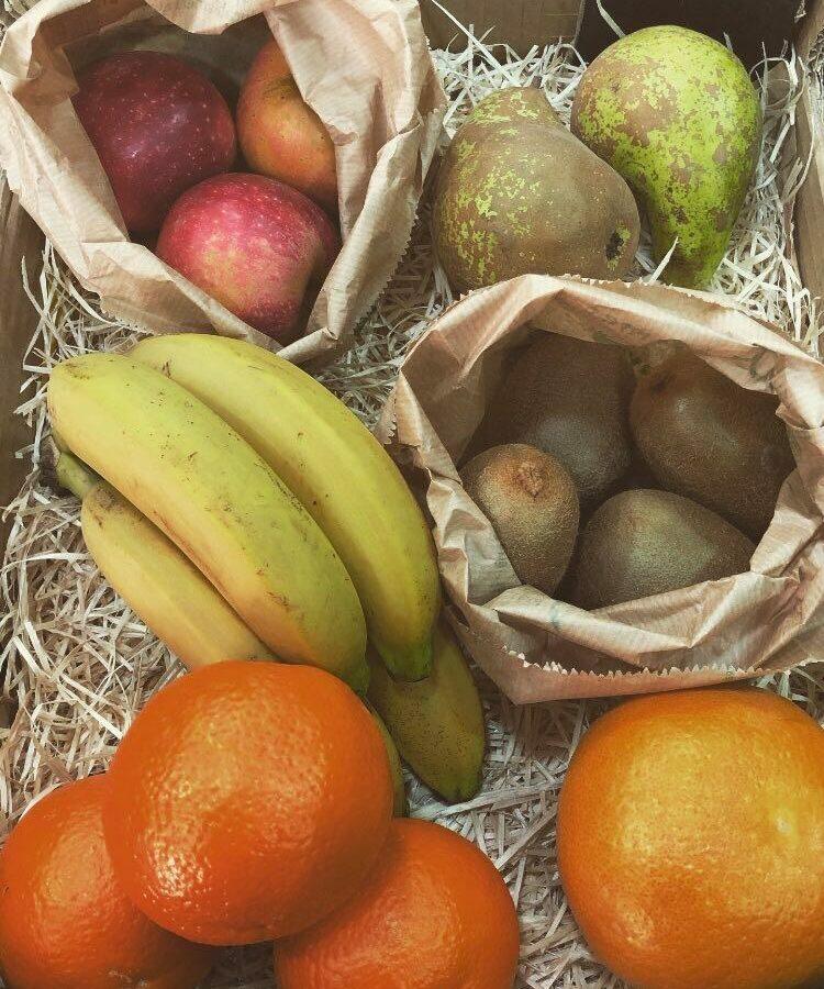 Box de fruits